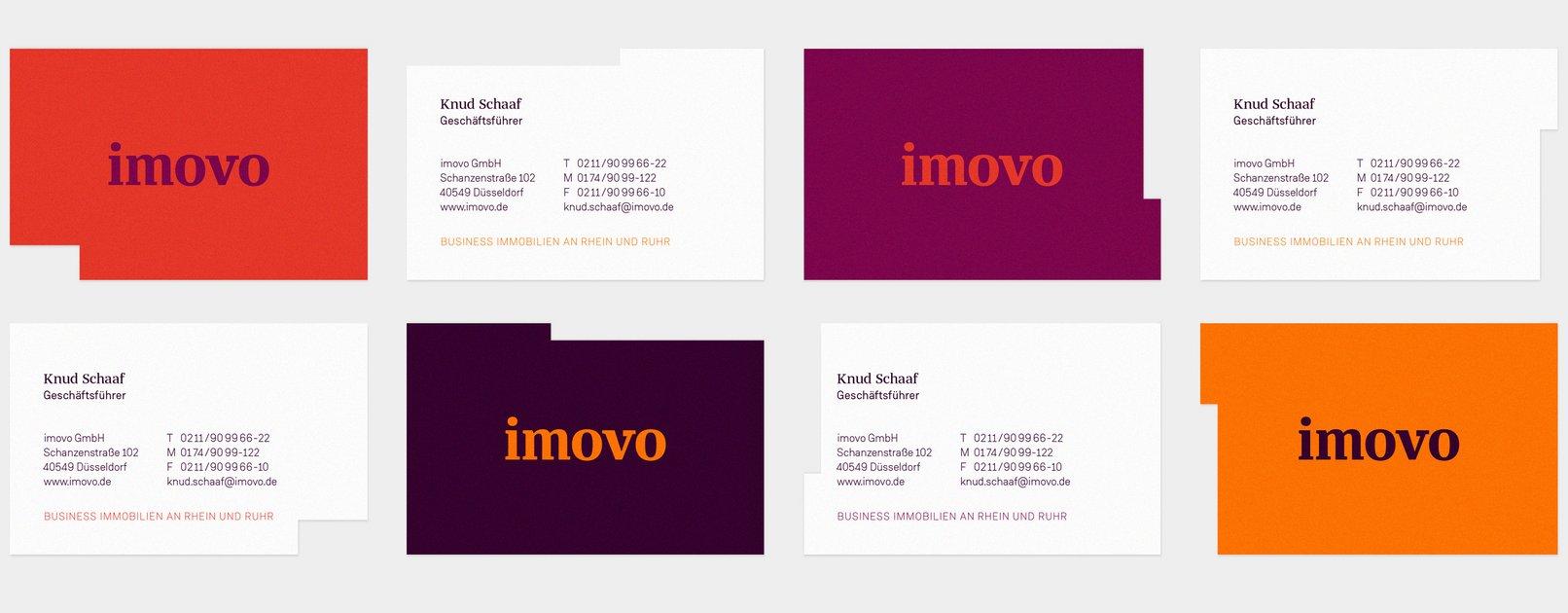 Corporate Design Für Den Business Immobilienpartner Imovo